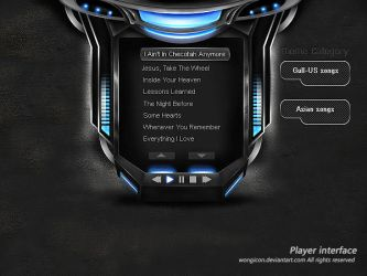 Player interface by wongicon