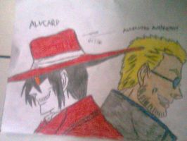 Alucard And Alexander Anderson by ShadowRocker3000