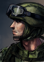 Soldier by radacs