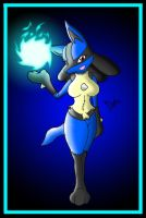 Female Lucario by Zenox-furry-man