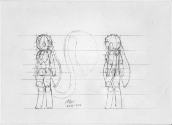 Marwan proportions reference sheet 2 by MarwanGreenCritter