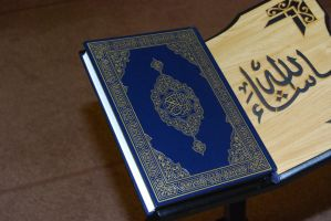Quran on a Stand 1 by billax