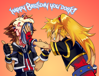 Happy birthday Sora! by Sakuyamon