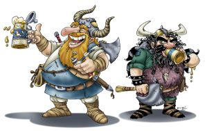 DAC - Vikings color by ATLbladerunner