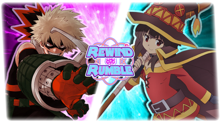 RR|Bakugo vs. Megumin by Vex2001
