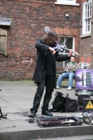 Urban violinist 3 by Random-Acts-Stock