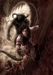 PRINCE OF PERSIA DAHAKA'S IN THE HOUSE by octopusdesenhos