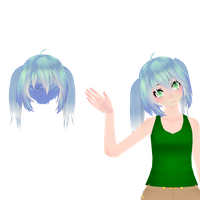 {MMD||100wg} TDA hair edit 1 + DL! by HB-Squiddy
