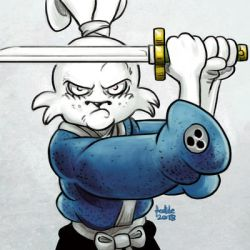 Daily Sketches Usagi Yojimbo by fedde