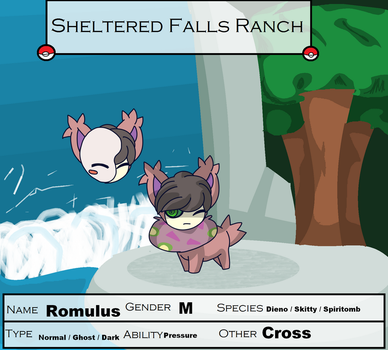 Sheltered Falls -Romulus- by Apricotthevixen