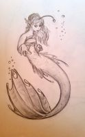 Angler Mermaid by MoodDragon