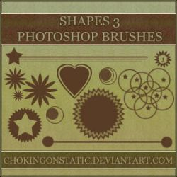 shape brushes 3 by chokingonstatic