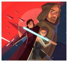 The Last Jedi by JE3