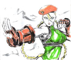 Inktober #18 (3) - Cammy by Horoko