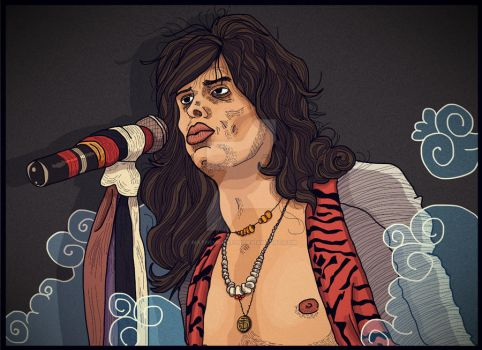 Steven Tyler by matheusantos