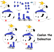 Character Builder - Caelan the Dalmatian by FoxPrinceAgain