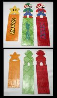 Video Game Bookmarks by GeneveveX
