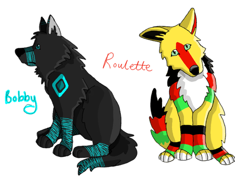 Bobby and Roulette by GreatestAllie