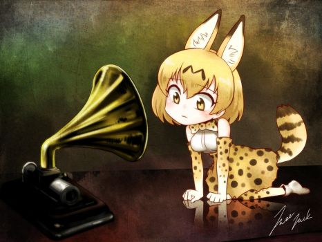 kemono friends  His master's voice by jazzjack-KHT