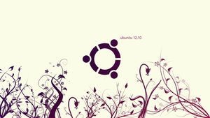 Ubuntu 12.10 Wallpaper by vladcoroeanu