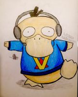 Venturian Said he Was a Psyduck... by WhovianVTfan