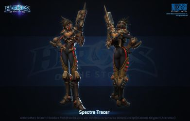 Hots Spectre Tracer by polydrawer