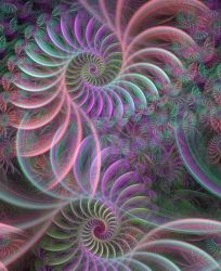 Fractal Parrot by LadyFromEast