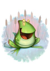 Frog by Lord-Dragon-Phoenix