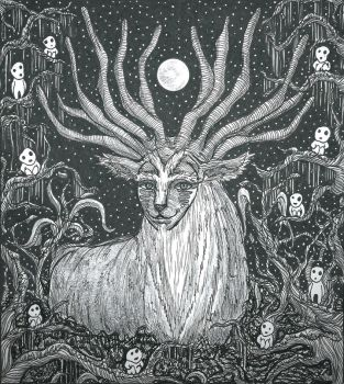The Forest Spirits by Slenderhand