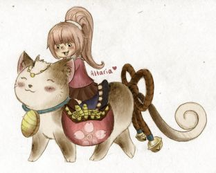 kitty mount by Ashley425
