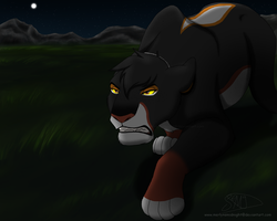 Dare To Challenge Me.... [art trade] by MerlynsMidnight