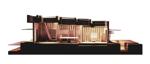 Section of Boatmakers Workshop by chioky