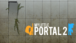 My Little Portal 2 Wallpaper by RDbrony16