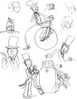 Superjail Sketches by anniemae04