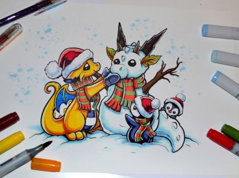 Dragons and Beasties by Lighane