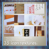 35 icon textures - twice too by yunyunsarang