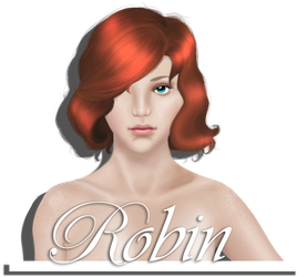 Robin - portrait by Yorenn