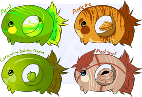Munchies adopts batch 1 :CLOSED by Koiremains