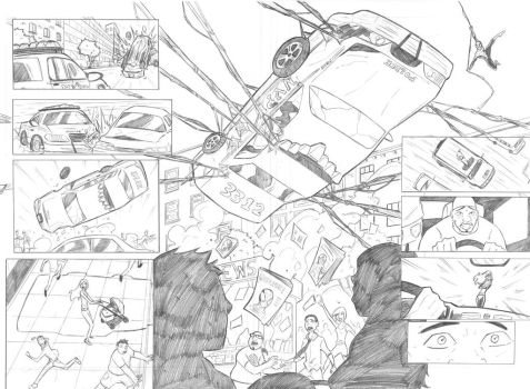 Ultimate Spiderman 112 (sample pages 3 and 4) by ultimatejulio
