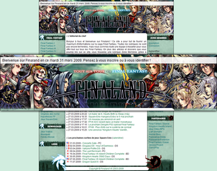Finaland Design: Dissidia by Toulal
