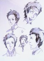 Adachi Sketches by Sophie-likes