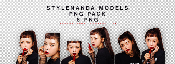 [18072017] STYLENANDA MODELS PNG PACK by btchdirectioner