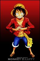 One Piece Monkey D.Luffy 3 by Adonis90