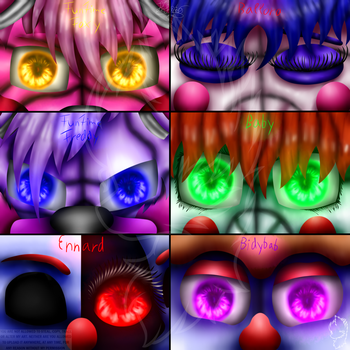 Sister Location Eyes by Infanio
