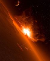 Horizons - Orange by emailandthings