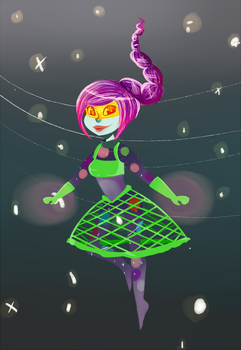 Space Magical Girl by FrigginGodess