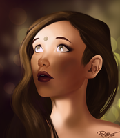 Lexa, The 100 by rose-92