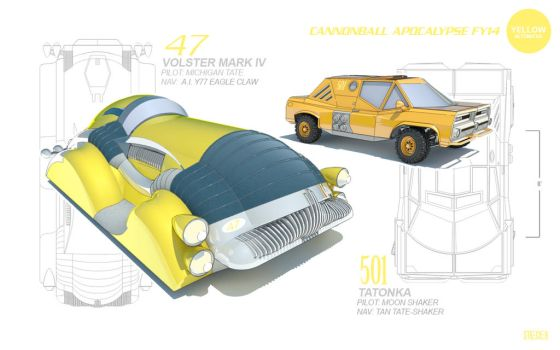 ReferenceModel-AltCars-YELLOW by DMStrecker