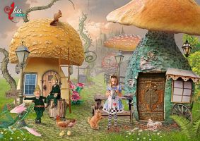 Alice In The Mashroomland - dheean by dheean