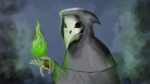 the Plague Doctor by cgRainden